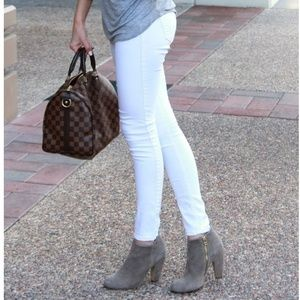 Wax Shaping Skinny Jeans White Pants Size 3 24